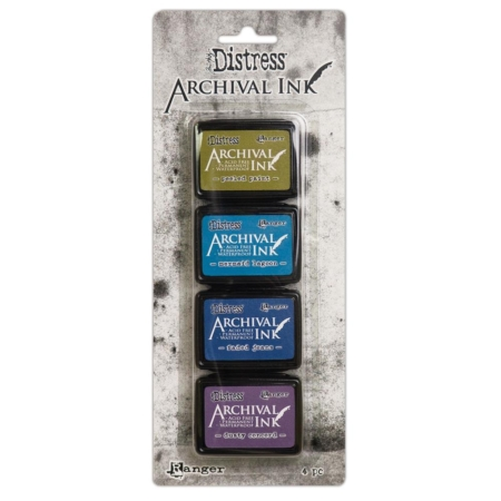 RANGER Tim Holtz Distress Archival Mini Ink Pad Kit 2 - AITK64862