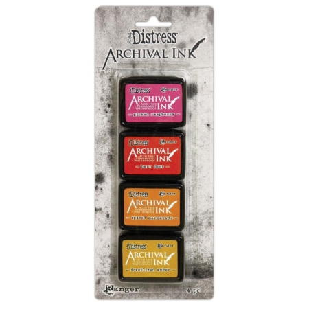 RANGER Tim Holtz Distress Archival Mini Ink Pad Kit 1 - AITK64855