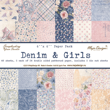 "Maja Design - Denim & Girls - Paper Pack 6 x 6"" - DEN1039"