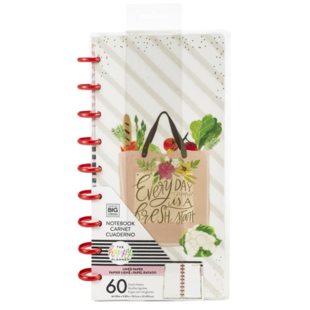 Happy Planner Classic Half Sheet Notebook - Foodie - FIPL18