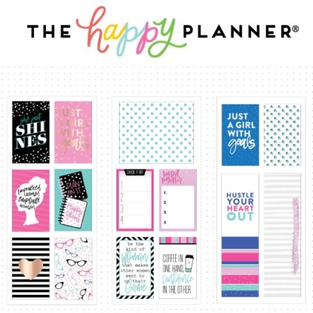 Happy Planner Medium Flip Stickers - Boss Babe - PFLIP-06