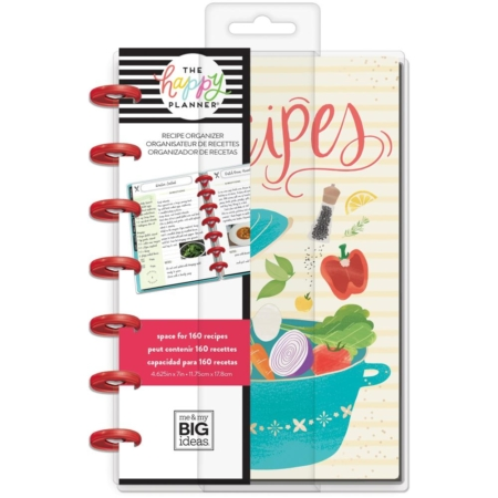 Happy Planner Mini Undated - Recipe - PLNMT-01
