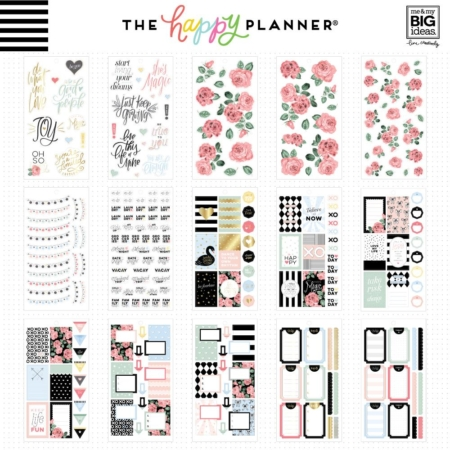 Happy Planner Sticker Value Pack - Simply Lovely - PPSV-107