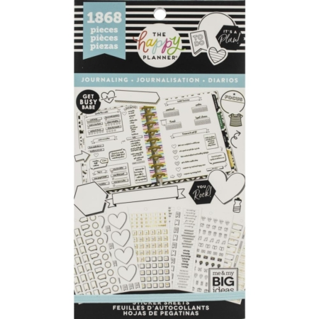 Happy Planner Sticker Value Pack - Journaling - PPSV-92