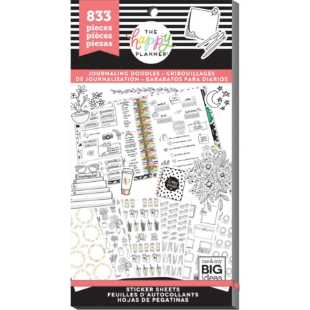 Happy Planner Sticker Value Pack - Journal - PPSV-93
