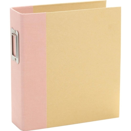 Sn@p – Simple Stories Sn@p! Binder 6″X8″ – Blush – 10731