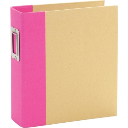 "Sn@p - Simple Stories Sn@p! Binder 6""X8"" - Pink - 10732"
