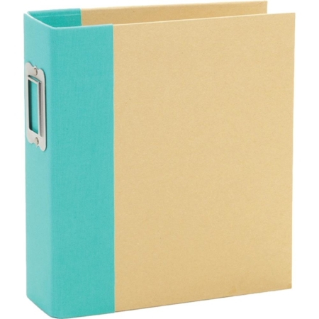 Sn@p – Simple Stories Sn@p! Binder 6″X8″ – Teal – 10735