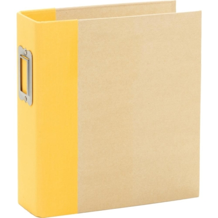 "Sn@p - Simple Stories Sn@p! Binder 6""X8"" - Yellow - 10736"