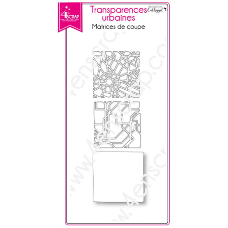 4enscrap Dies - city metro plan - Urban Transparencies - 4EN-500