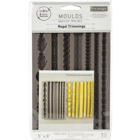 Prima - Finnabair Decor Moulds - Regal Trimmings - 636340