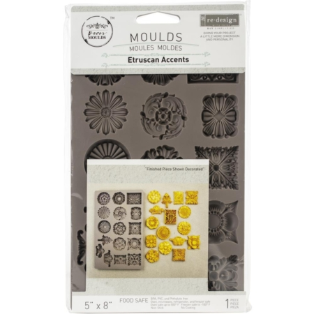 Prima - Finnabair Decor Moulds - Regal Filaments - 636456