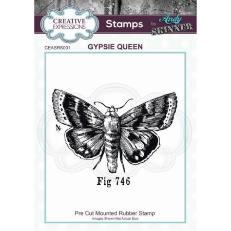 Andy Skinner Rubber Stamp - Gypsie Queen - CEASRS001