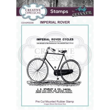 Andy Skinner Rubber Stamp - Imperial Rover - CEASRS006