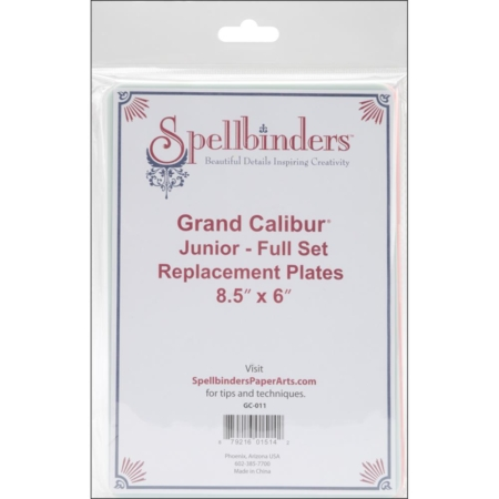 Spellbinders Grand Calibur Junior Replacement Plates - GC-011
