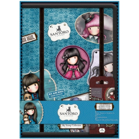 Gorjuss Santoro Collectable Rubber Stamp Storage Case