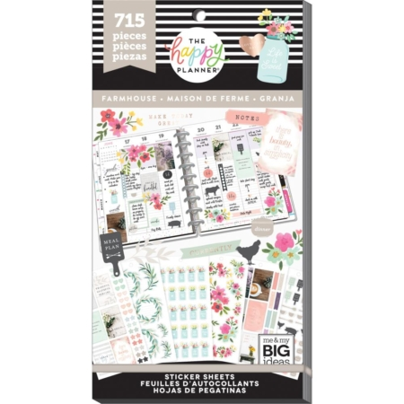 Happy Planner Sticker Value Pack – Farmhouse – PPSV-97