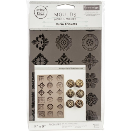 Prima - Finnabair Decor Moulds - Curio Trinkets - 638856