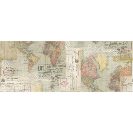 "Tim Holtz Idea-Ology Collage Paper 6""X6yds - TH93950"