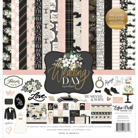 Echo Park Collection Pack - Wedding Day - WD181016