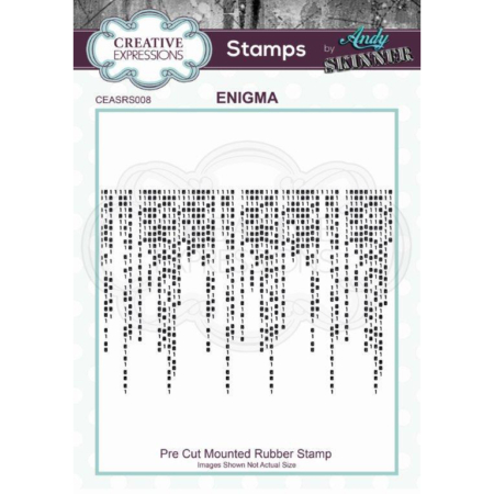 Andy Skinner Rubber Stamp - Enigma - CEASRS008