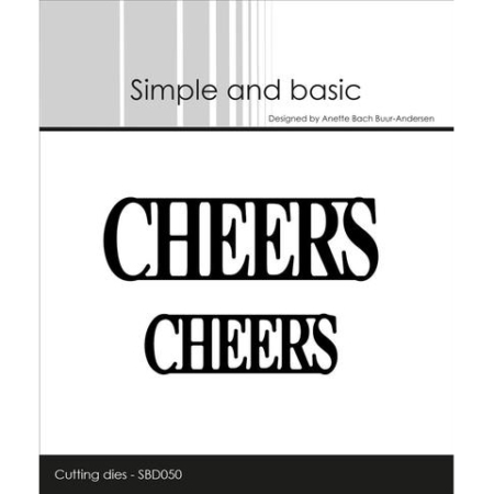 Simple and Basic Dies - Cheers - SBD050
