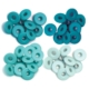 We R Memory Keepers - We R Eyelets Wide - Aqua