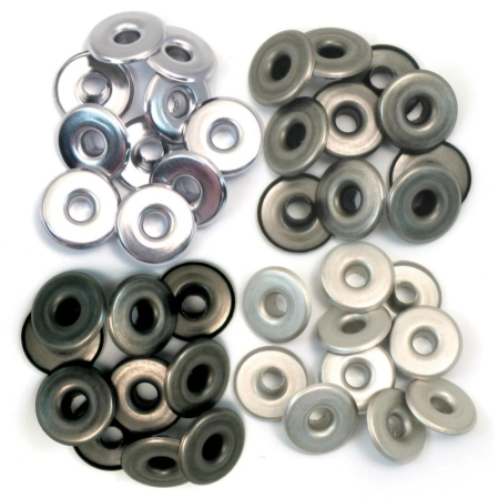 We R Memory Keepers - We R Eyelets Wide - Cool Metal
