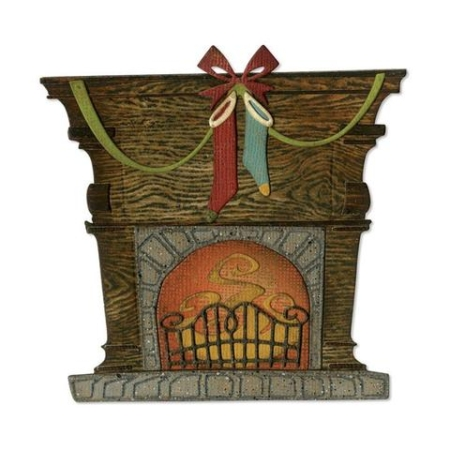Sizzix Thinlits Tim Holtz - Fireside - 664193