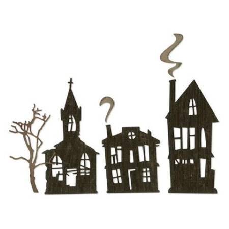 Sizzix Thinlits Tim Holtz - Ghost Town - 664194