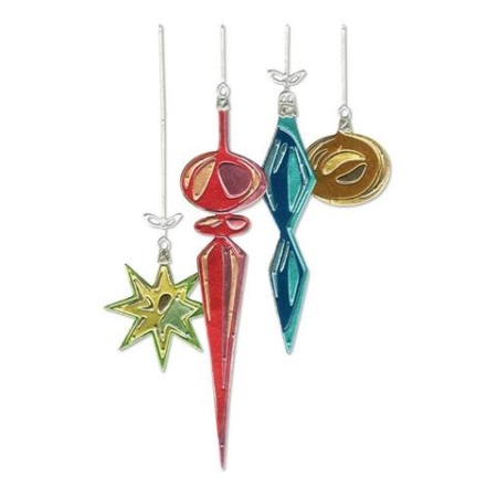 Sizzix Thinlits Tim Holtz - Hanging Ornaments - 664197