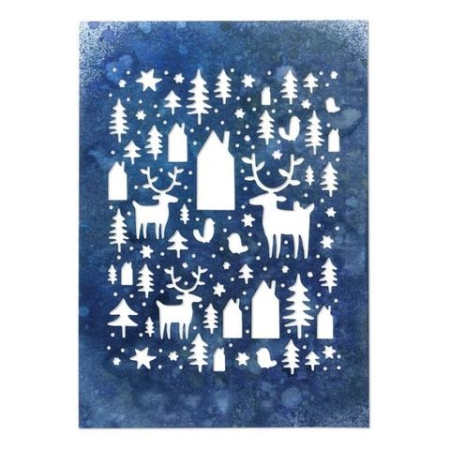 Sizzix Thinlits Tim Holtz - Nordic Winter - 664199