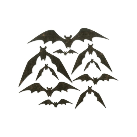 Sizzix Thinlits Tim Holtz - Bat Crazy - 664203