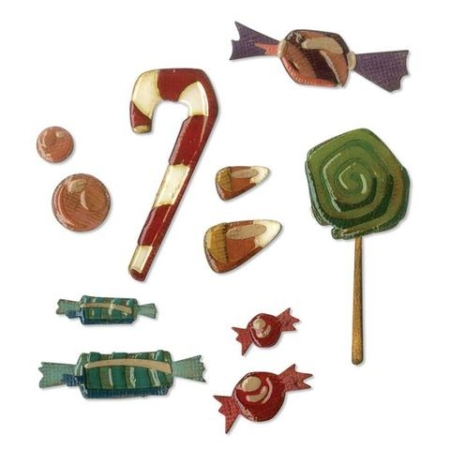 Sizzix Thinlits Tim Holtz - Sweet Treats - 664204