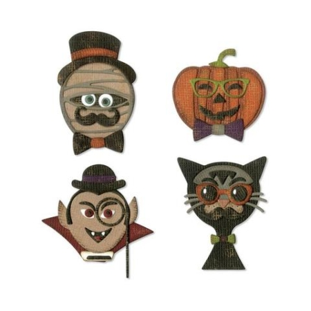 Sizzix Thinlits Tim Holtz - Haunts - 664206