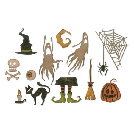 Sizzix Thinlits Tim Holtz – Frightful Things – 664209