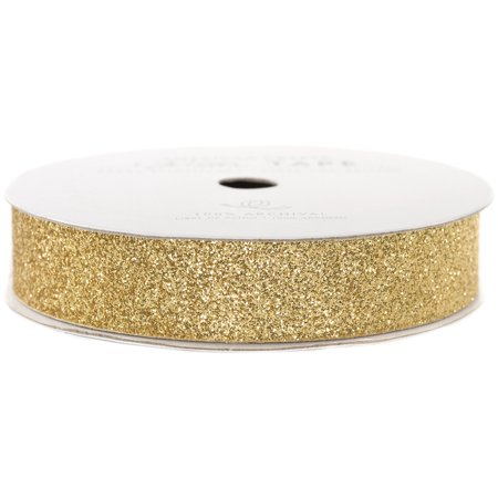 "American Crafts Glitter Paper Tape – Brown Suger .625"" - 96044"