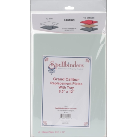 Spellbinders Grand Calibur Replacement Plates - GC-007