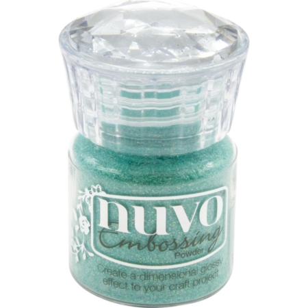 Nuvo Embossing Powder - Ocean Sparkle - 595N