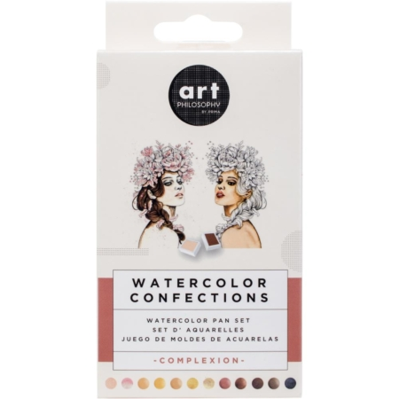 Prima Art Philosophy Confections Watercolor Pans Complexion