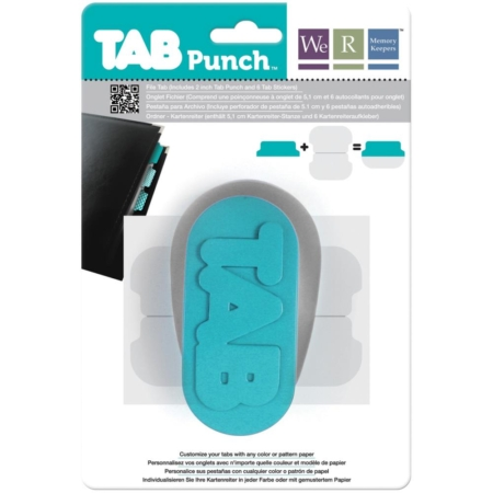 We R Memory Keepers - Tab Punch - 71312-8