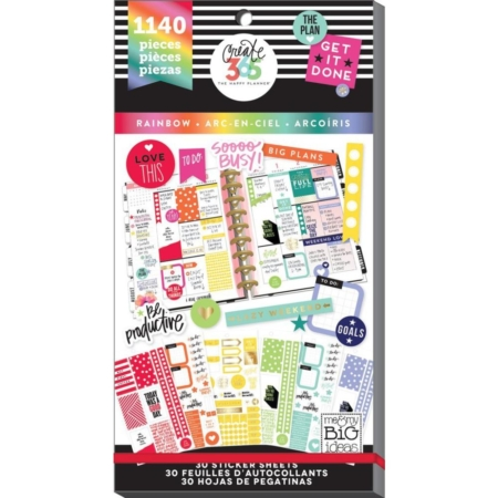 Happy Planner Sticker Value Pack - Rainbow Classic - PPSV-11