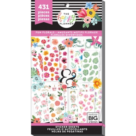 Happy Planner Sticker Value Pack - Fun Florals - PPSV-73