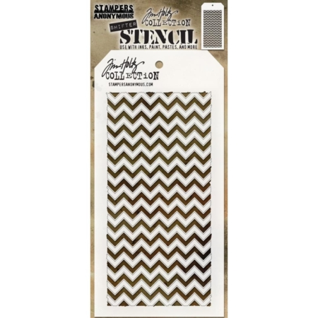Tim Holtz - Layered Stencil - Shifter Chevron - THS127