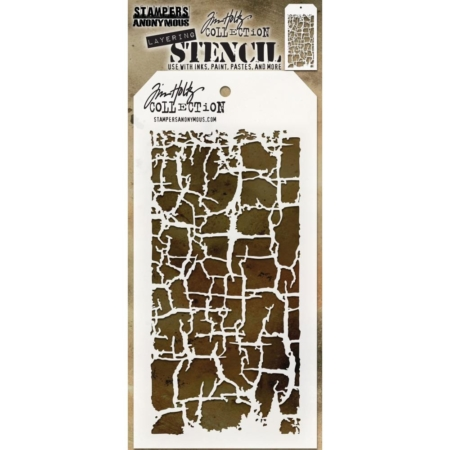 Tim Holtz - Layered Stencil - Decayed - THS129