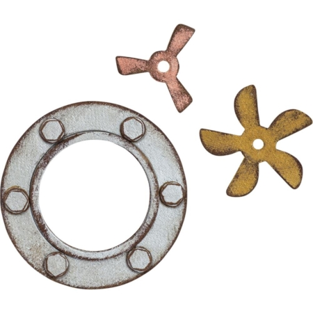 Sizzix Bigz XL – Tim Holtz Steampunk Parts – 664185