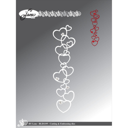By Lene Dies - Heart Border - BLD1195