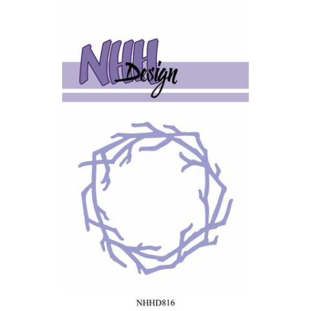 NHH Design Dies - Wreath-1 - NHHD816