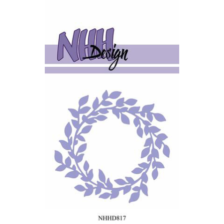 NHH Design Dies - Wreath-2 - NHHD817