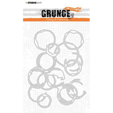 Studio Light Dies – Grunge – STENCILSL224